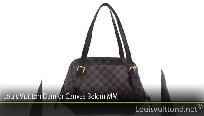 Louis Vuitton Damier Canvas Belem MM